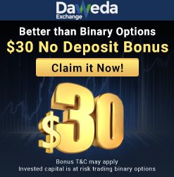 free bonus binary options