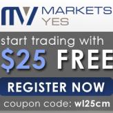MarketsYES – 25$ No Deposit Bonus & up to 300% Deposit Bonus!