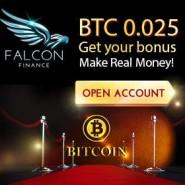Falcon Finance Broker – 100$ or 0.025 BTC Binary Options No Deposit Bonus! USA Customers Welcome!