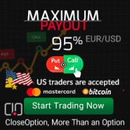 Close Option Broker 20 Dollars Binary Options No Deposit Bonus