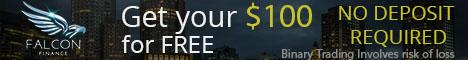 Falcon Finance Binary Options No Deposit Broker