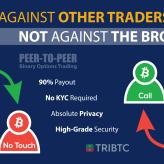 TRIBTC – the World's First Platform Peer-to-Peer Crypto Binary Options Trading