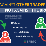 TRIBTC – the World's First Platform Peer-to-Peer Crypto Binary Options Trading
